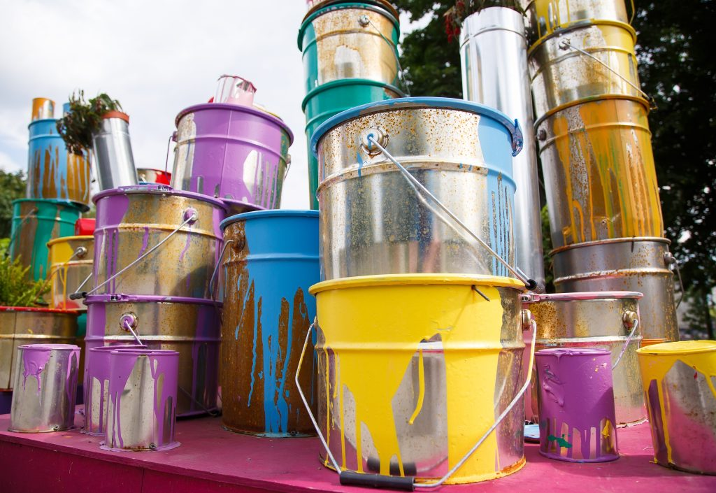 Used paints